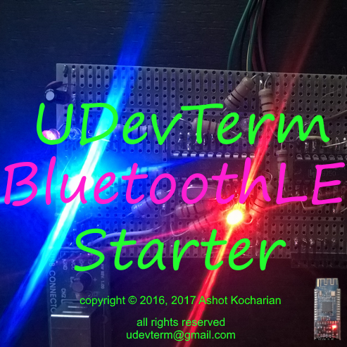 UDevTerm Bluetooth low energy Starter icon