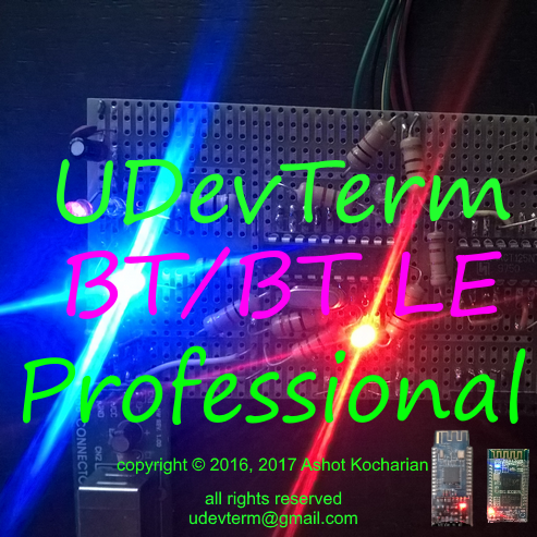 UDevTerm Bluetooth/Bluetooth low energy Professional icon