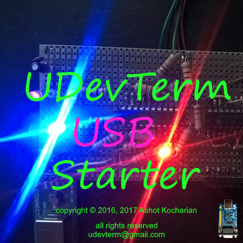 USB Demo Color Terminal
