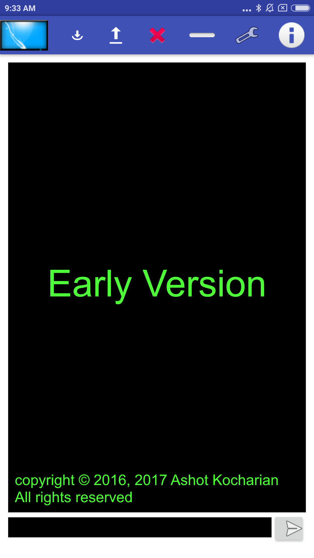 UDevTerm Terminal Emulator Early development version