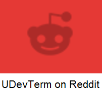 UDevTerm on Reddit